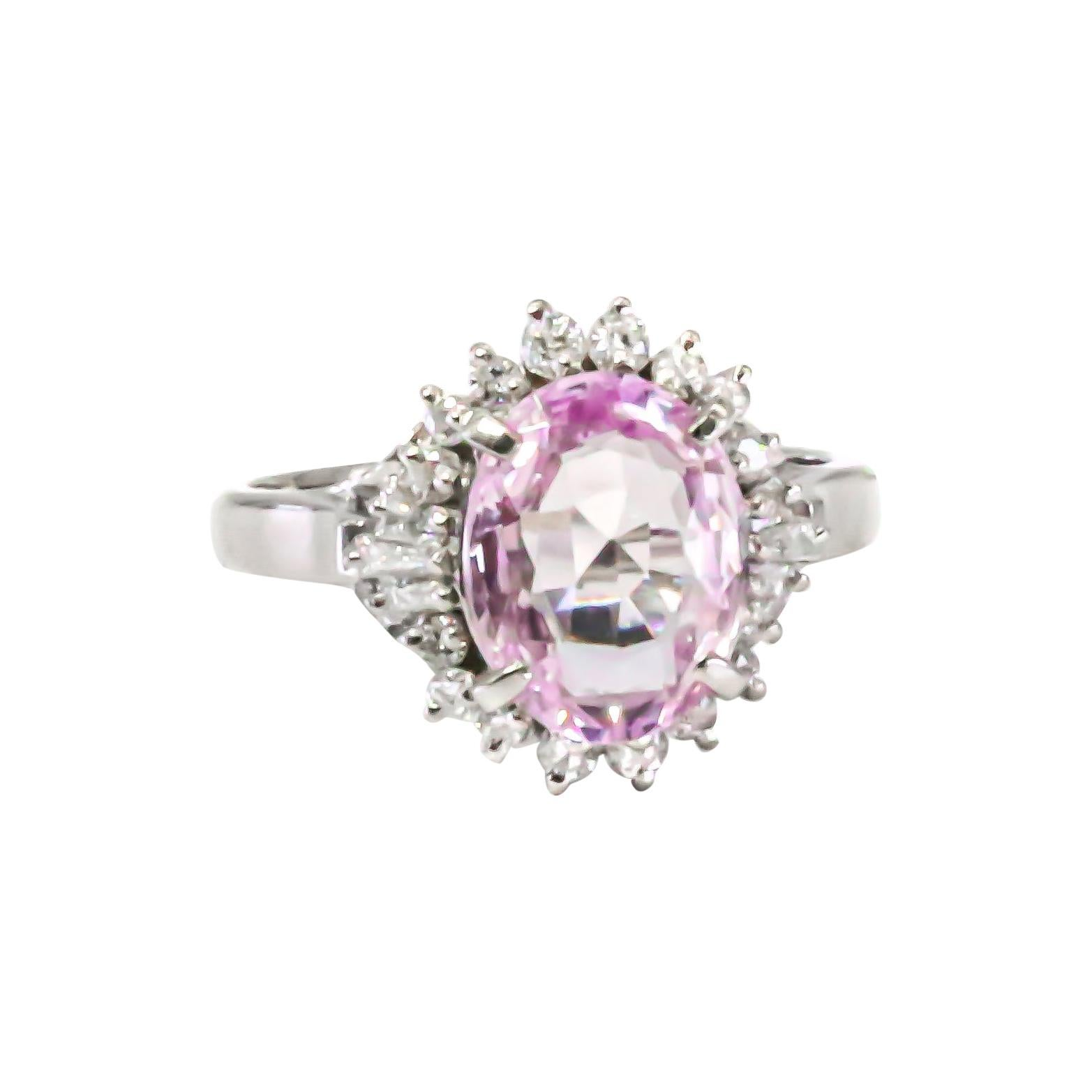 GIA Certified No Heat Pink Sapphires