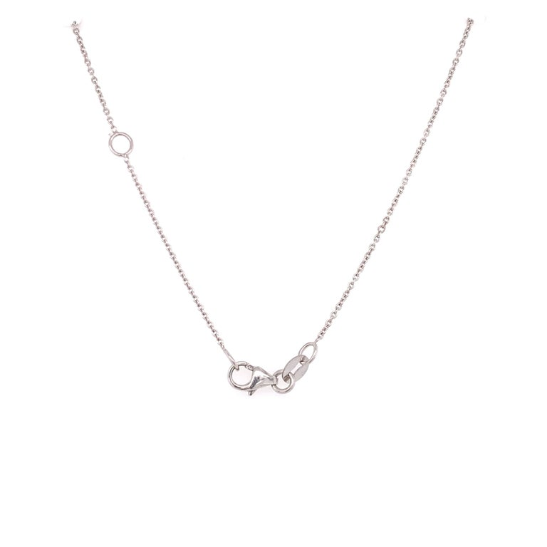 GIA Certified Pear Shaped Diamond Pendant Necklace In New Condition For Sale In Miami, FL