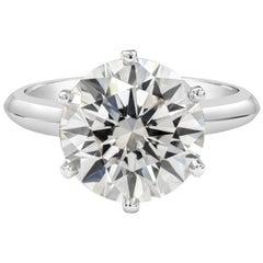 Roman Malakov GIA Certified Round Diamond Solitaire Engagement Ring