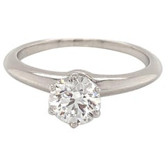 GIA Certified Tiffany's Engagement Ring