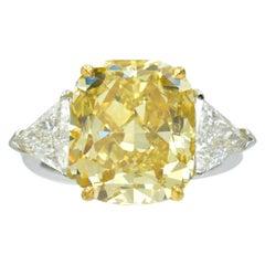 GIA Fancy Yellow Diamond Solitaire