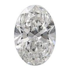 GIA Graded 1.00 Carat Oval Shape Diamond