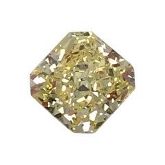 GIA Intense Yellow 2.20 Carat Radiant Cut Diamond