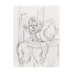 Giacometti Lithography by Atelier Mourlot