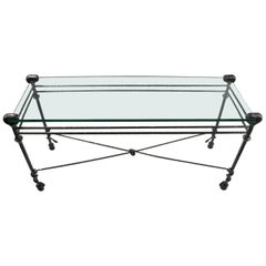 Giacometti Style Console Table
