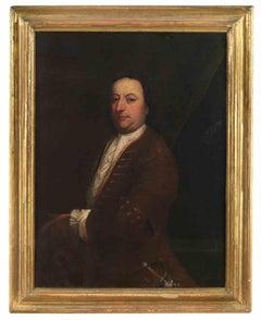 Portrait of a Gentleman - Original Painting  Giacomo Antonio Ceruti - 1750