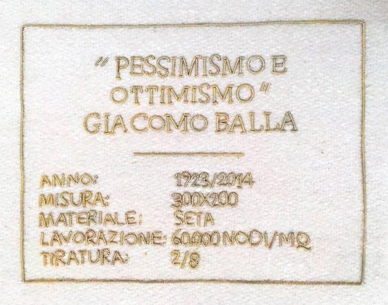 Hand-Knotted Giacomo Balla