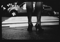 Untitled #12 (Woman's Legs) from New York - Black and White, Street Photography