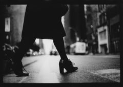 Untitled #14 from New York - Black and White, Street Photography, Legs