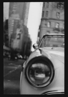 Untitled #18 (Car Plaza Hotel) from New York - Black and White Photography