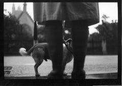 Untitled #24 (Woman and Dog Westminster) from Eternal London - Giacomo Brunelli