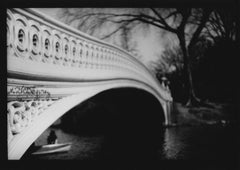 Untitled #26 (Boat Central Park) from New York - Black and White, Street Photo