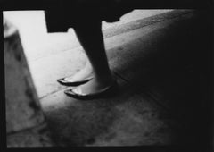 Untitled #4 (Woman's Shoes) from New York - Black and White, Street Photography
