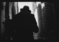 Untitled #6 from New York - Black and White, Street Photography, Silhouette