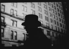 Untitled #7 (Man's Hat) from New York - Black and White, Street Photography