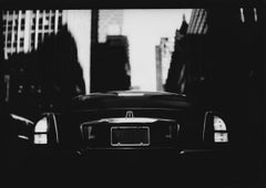 Untitled #8 (Car NY Landscape) from New York - Black and White, Street Photo