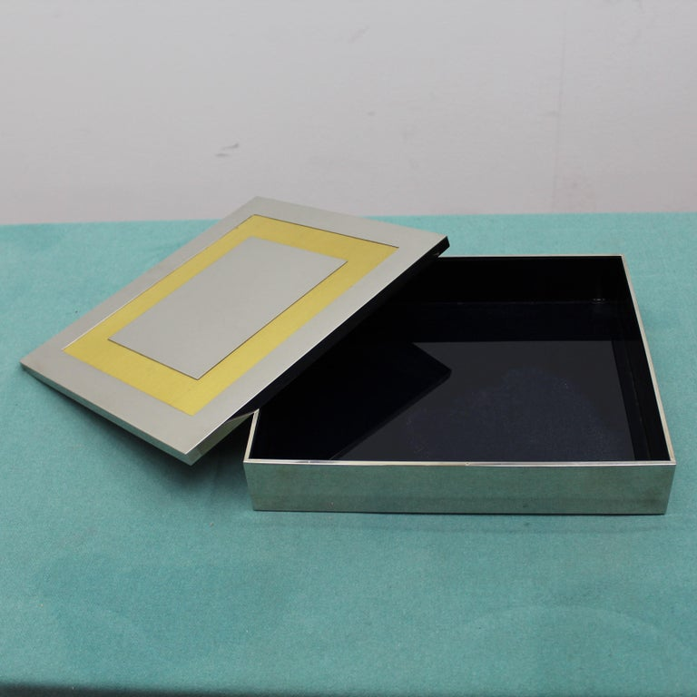 Midcentury Jewelry Box Giacomo Sinopoli by Liwan's Rome Italy 1970s For Sale 4