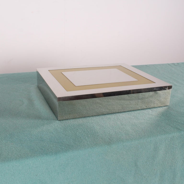 Late 20th Century  Midcentury Jewelry Box Giacomo Sinopoli by Liwan's Rome Italy 1970s For Sale