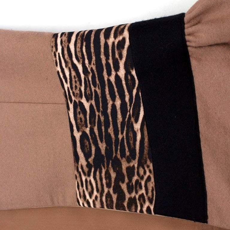 Women's Giambattista Valli contrast-waist wool-blend dress IT 42 For Sale