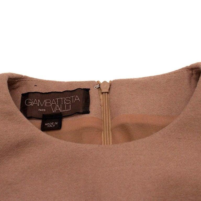 Giambattista Valli contrast-waist wool-blend dress IT 42 For Sale 1