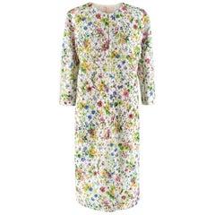 Giambattista Valli Embroidered Floral Coat - Size US 8