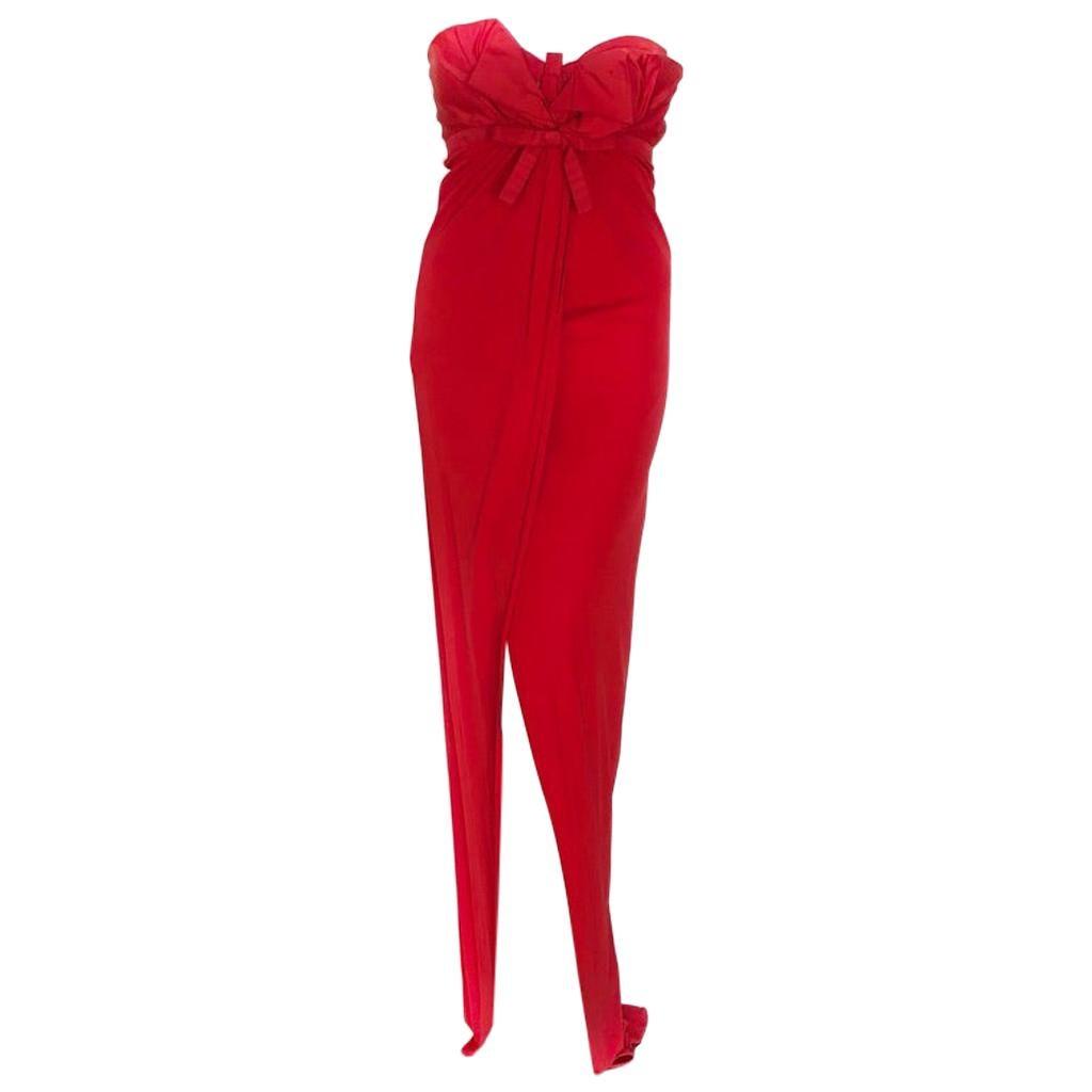 GIAMBATTISTA VALLI red gown