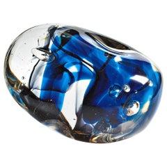 "Giampaolo Seguso, ""Autorevole"" Sculpture, One of a Kind Murano Glass Art Works"