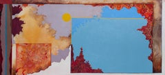 Kytherean Summer - Surrealist Oil Landscape Painting