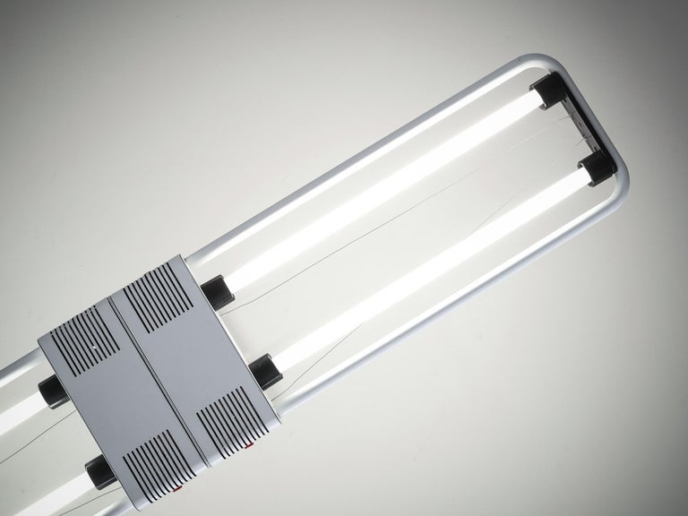 Gian Nicola Gigante Fluorescent 'Chandelier' In Excellent Condition For Sale In Waalwijk, NL