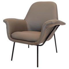 """Giancarlo De Carlo """"Lucania"""" Lounge Chair by Arflex"""