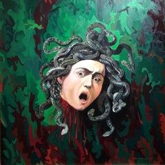 Fear (Medusa) (After Caravaggio)