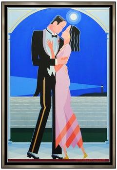 Giancarlo Impiglia Original Oil Painting On Board Large Signed Art Portrait Art