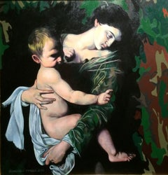 Mother and Child (After Caravaggio)