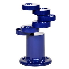 Giancarlo Piretti for Castelli Blue Pluvium Umbrella Stand