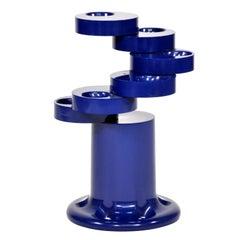 Giancarlo Piretti for Anonima Castelli Blue Pluvium Umbrella Stand