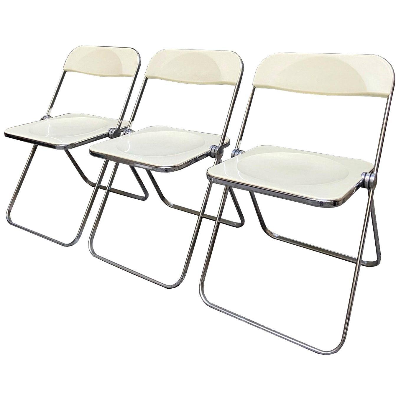 Giancarlo Piretti for Castelli 'Plia' Chair, Italy