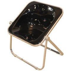 "Giancarlo Piretti For Castelli ""Plona"" Lucite Folding Chair"