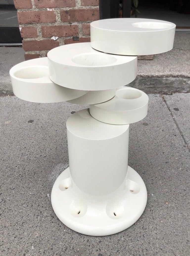 Giancarlo Piretti Pluvium Umbrella Stand In Good Condition For Sale In Hudson, NY