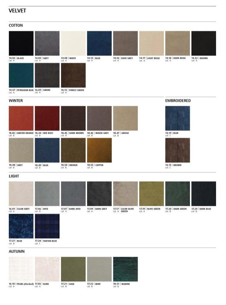 Modern Gianfranco Ferré Alameda Black Cushion in Velvet and Shantung For Sale