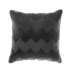 Gianfranco Ferré Alameda Pillow in Black Velvet
