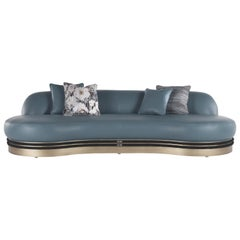 Gianfranco Ferré Home Alexander Sofa in Leather