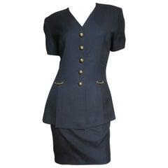 Gianfranco Ferre Backless Jacket and Skirt