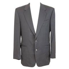 Gianfranco Ferre Blue Wool Classic Jacket
