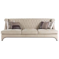 Gianfranco Ferré Bradmore Sofa in Leather Upholstery