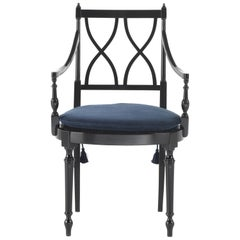 Gianfranco Ferré Home Bridge Armchair in Fabric