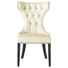 Gianfranco Ferre Brixton Chair in Leather Upholstery