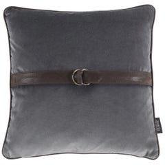 Gianfranco Ferré Brooklyn Cushion in Fabric and Leather