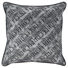 Gianfranco Ferré Home Burlesque Small Cushion in Silk and Lace