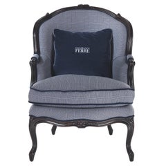Gianfranco Ferré Home Burt Armchair in Fabric
