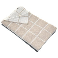 Gianfranco Ferré Buster Throw in Beige Cashmere